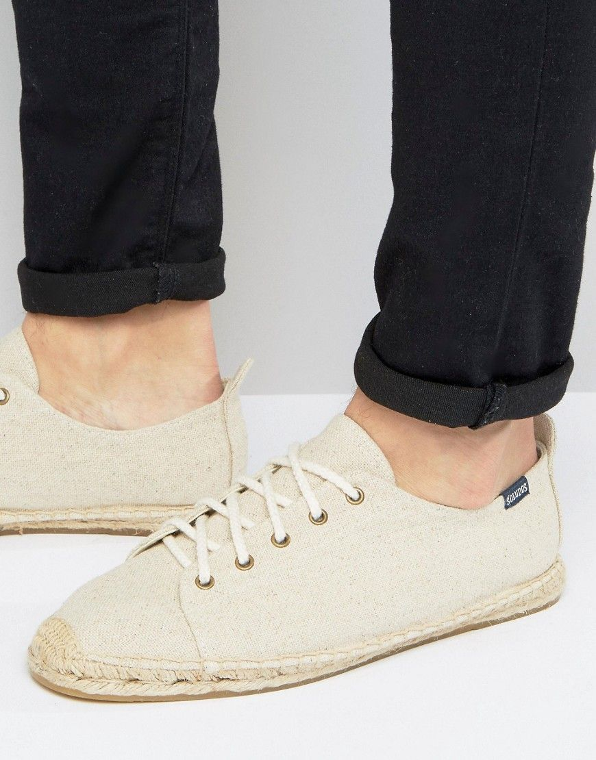 Shop Soludos Canvas Lace Up Espadrilles at ASOS.