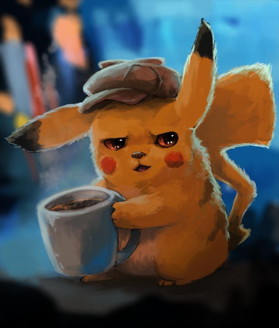 Detective Pikachu Pikachu Art Pikachu Wallpaper Cute Pikachu