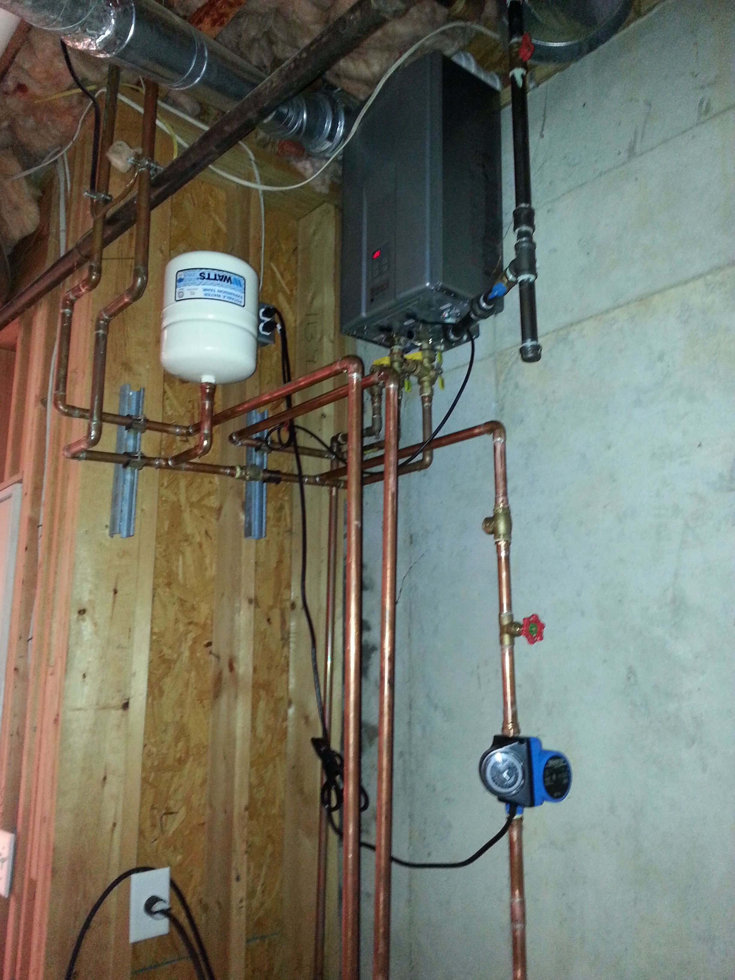 Recirculation Pump With A Tankless Water Heater Install Canton