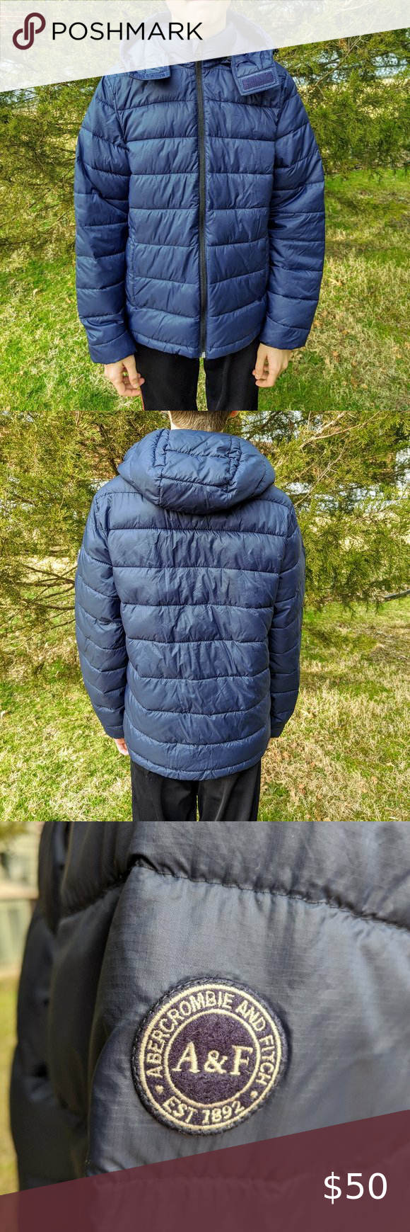Men S Abercrombie Fitch Navy Puffer Jacket Abercrombie And Fitch Jackets Jackets Puffer Jackets [ 1740 x 580 Pixel ]