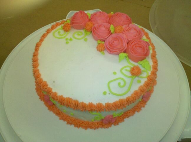 Wilton Cake Decorating Class 1 - Complete! Recipes ...