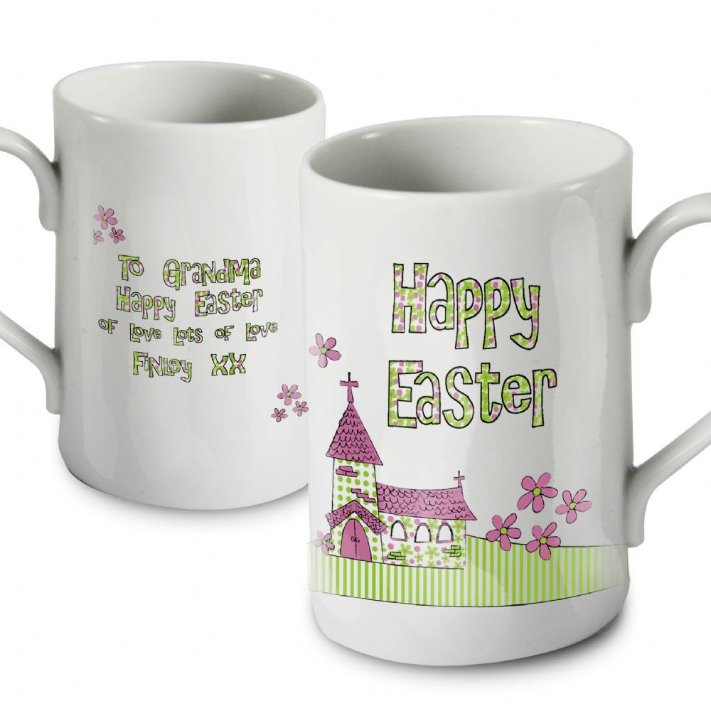 Personalised whimsical church easter mug whimsical easter and gift easter gift ideas personalised whimsical church easter mug easter gift 899 negle Choice Image
