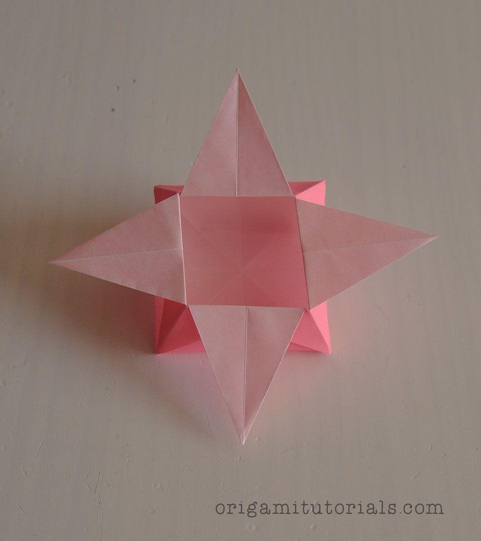 Origami Star Box Tutorial