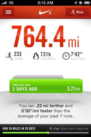 montículo Platillo ansiedad  Nike+ Running on the App Store on iTunes | How to run faster, Nike running,  Running