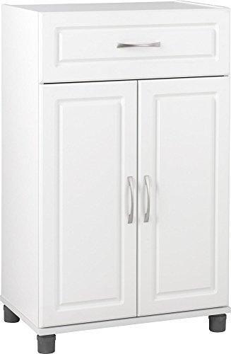 Systembuild Kendall 1 Drawer 2 Door Base Storage Cabinet 24 White In 2021 Kitchen Base Cabinets Replacement Kitchen Cabinet Doors Tall Cabinet Storage White storage cabinet with drawers