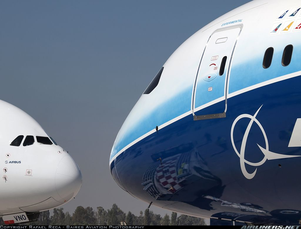 Boeing #B787 #787 vs #Airbus #A380. The outcome of the debate ...