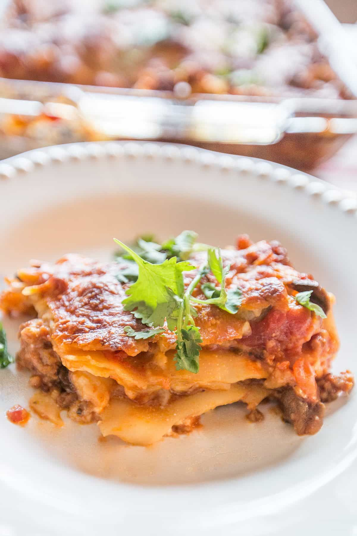 Cottage Cheese Lasagna Our Familys Secret To Delicious Addictive Lasagna Lasagna Cottage Cheese Cheese Lasagna