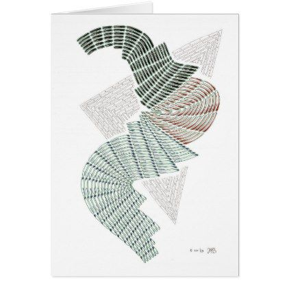 Abstract Pen Drawing Card Drawing Sketch Design Graphic Draw