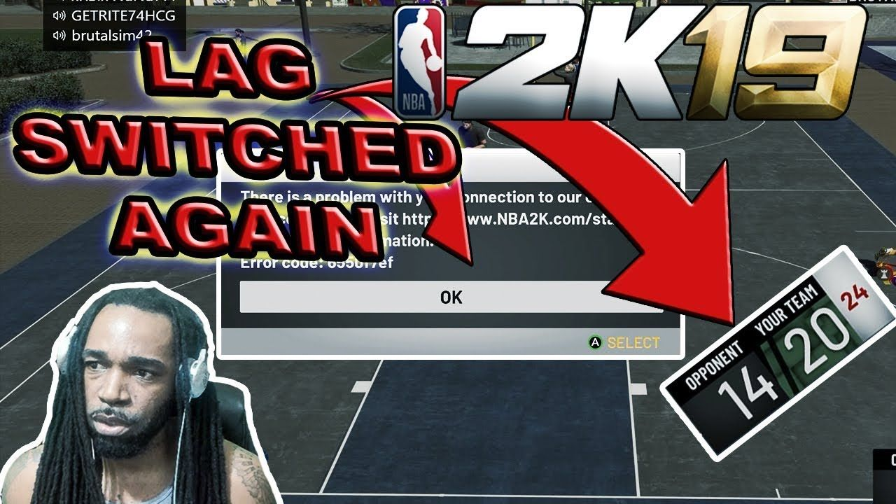 LAG SWITCH A GROING TREND IN NBA 2K19?? - NBA 2K19 GAMEPLAY