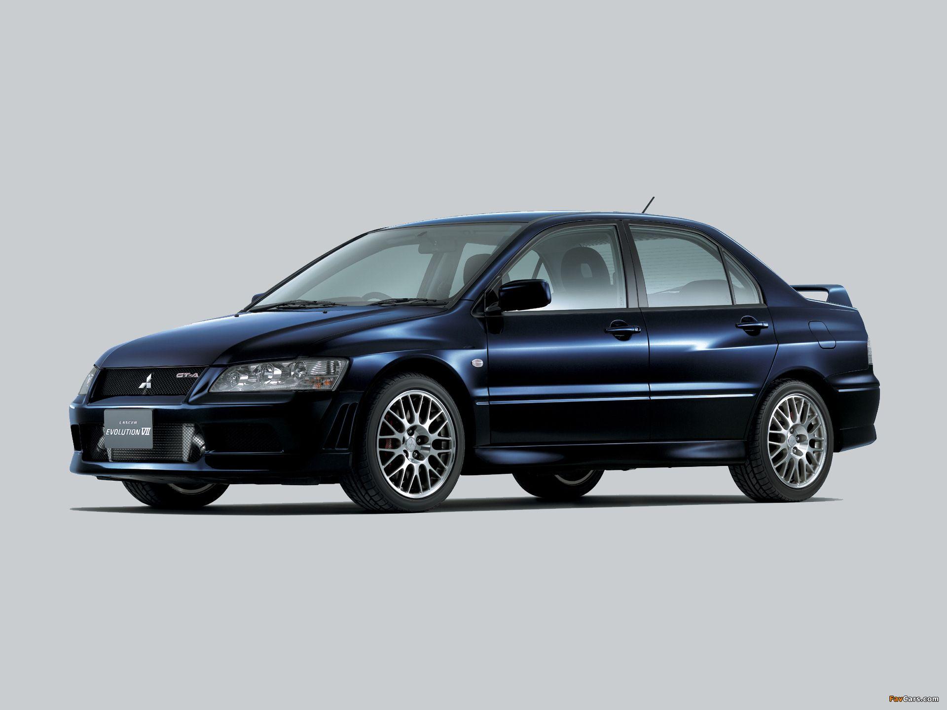 Mitsubishi lancer evolution vii gt a ct9a 2002 03