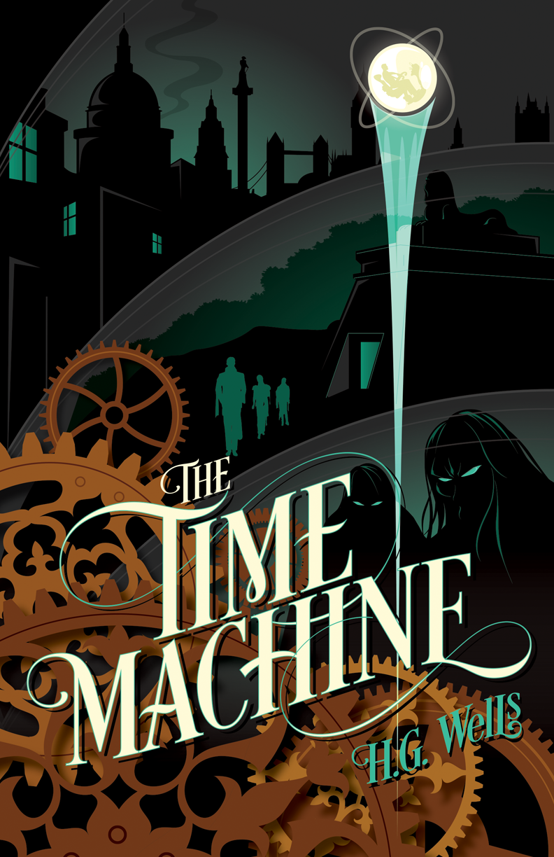 The Time Machine (With images) | The time machine book, Science ...