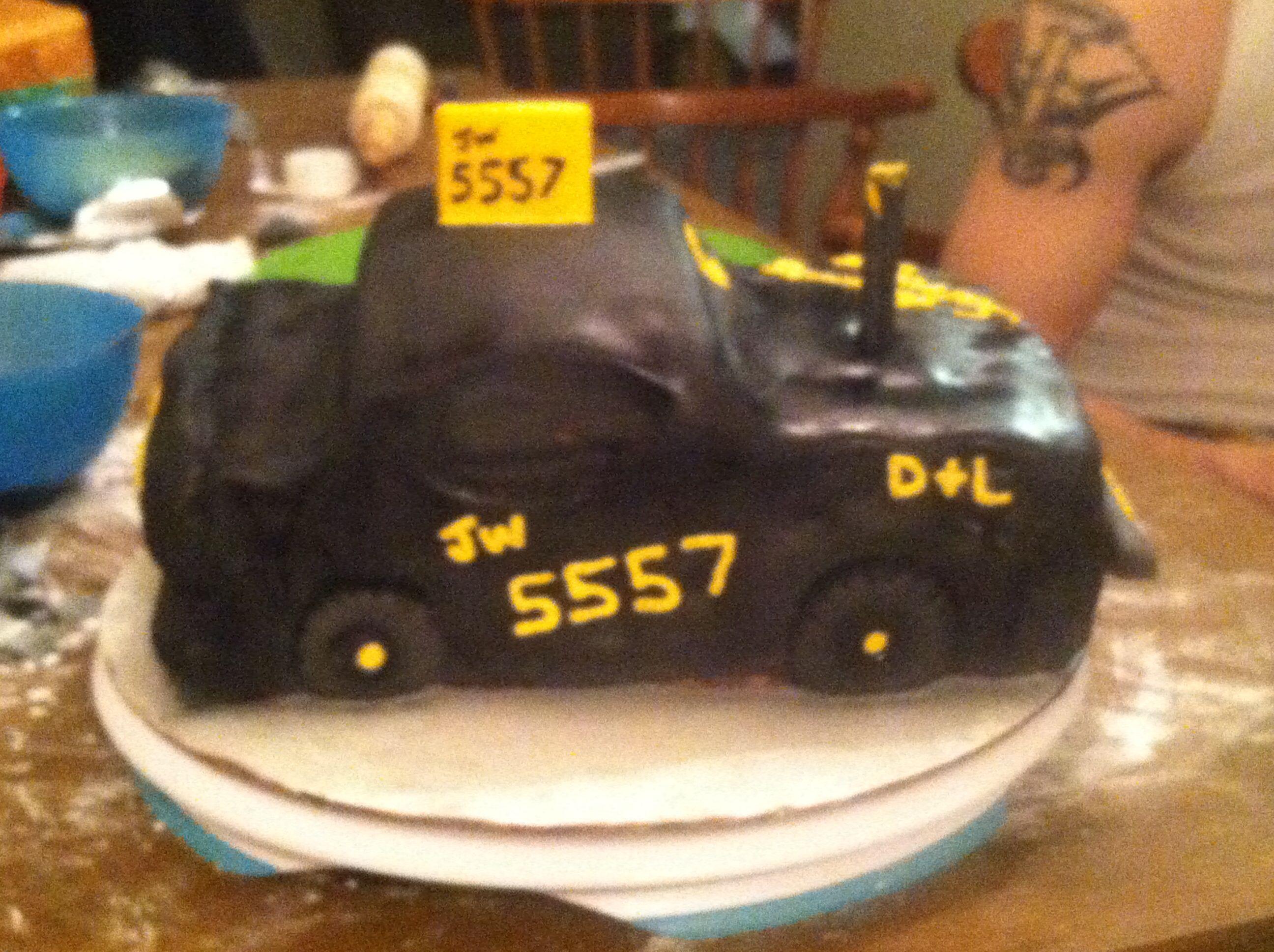 Demolition derby cake | Grooms cake, Cake, Wedding cakes