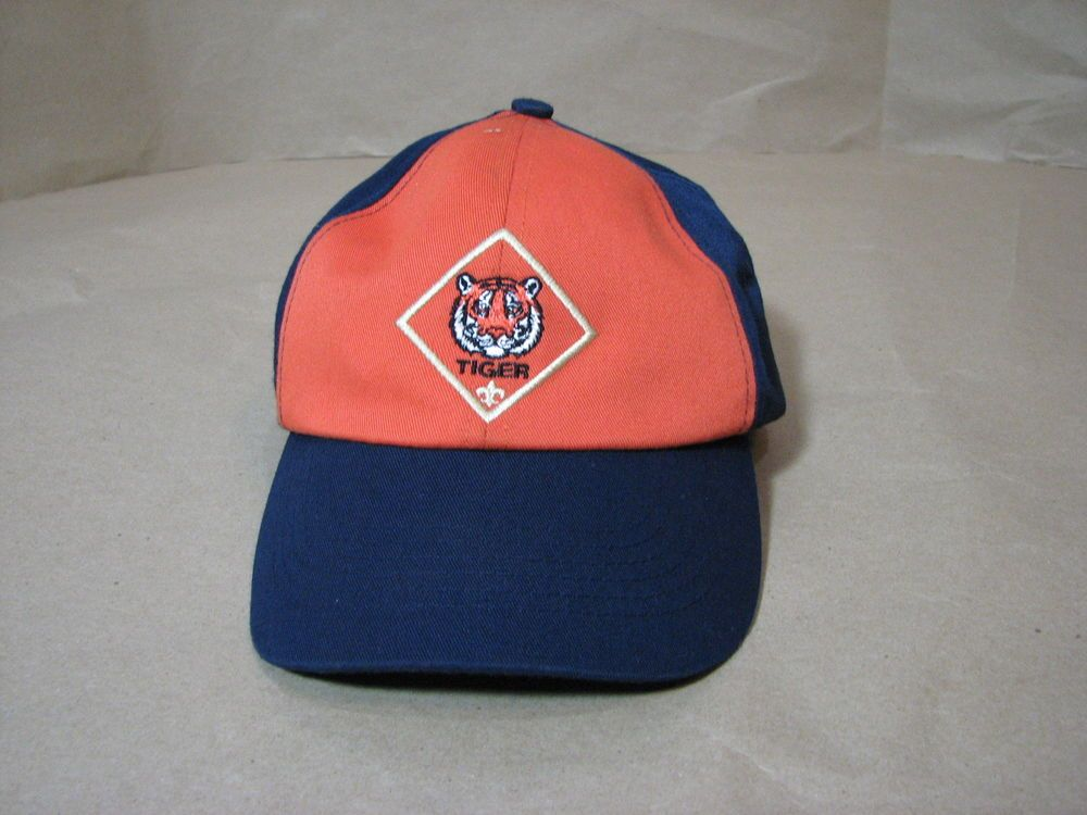 Boy Scouts Tiger Hat Cap Uniform M L  BoyScoutsofAmerica  Hat  6848f065bc73