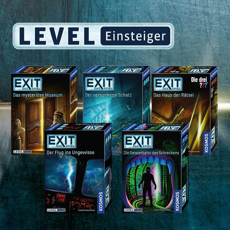 Esc Der versunkene Schatz Das Spiel Kosmos 694050 EXIT Level: Einsteiger
