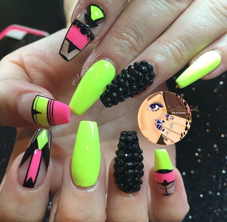 Pin by LaPria Youngblood on Nails | Pinterest | Nail nail, Nail swag ...