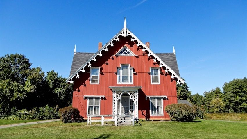 Jonas B Shurtleff House Gothic House House Styles Historic Homes