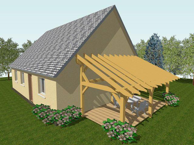 Appenti X2f Preau 300 Cm X 600 Cm Castorama Plan Cabane Auvent Bois Pergola