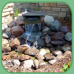 Water Features For Patios | Patio Landscaping   Mankato, MN   Curb Appeal  Of So