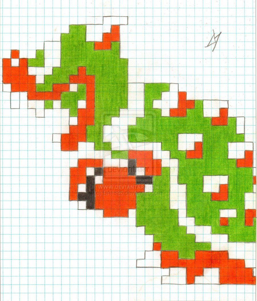 8 Bit Bowser by DA1825.deviantart.com on @deviantART   8 bit & pixel ...