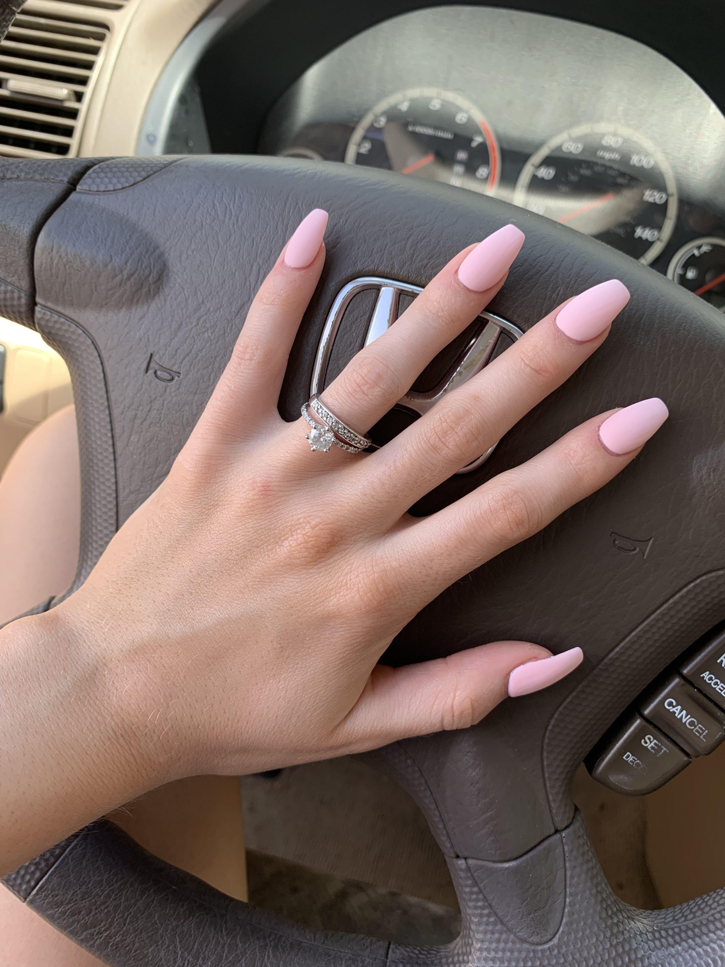 Pink Acrylic Tip Gel Nails Pink Acrylic Tips Pink Gel Nails Light Pink Nails