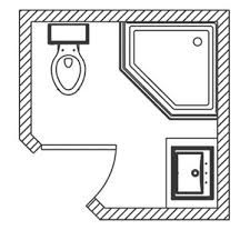 Four Impressive Walk In Shower Ideas Small Bathroom Floor Plans