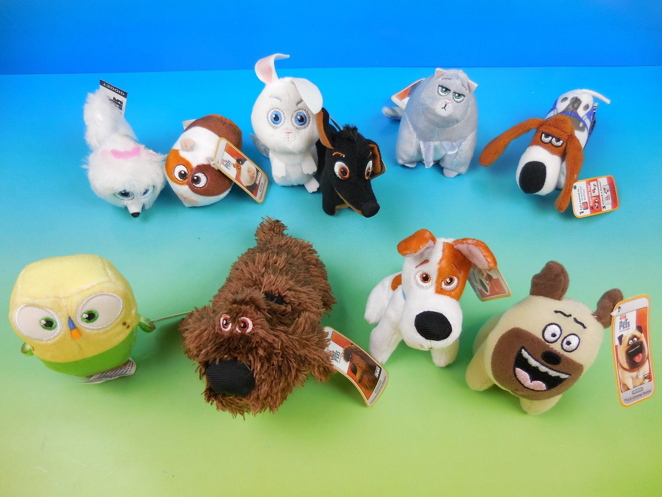 2016 The Secret Life Of Pets Set Of 10 Mcdonalds Happy Meal Kids