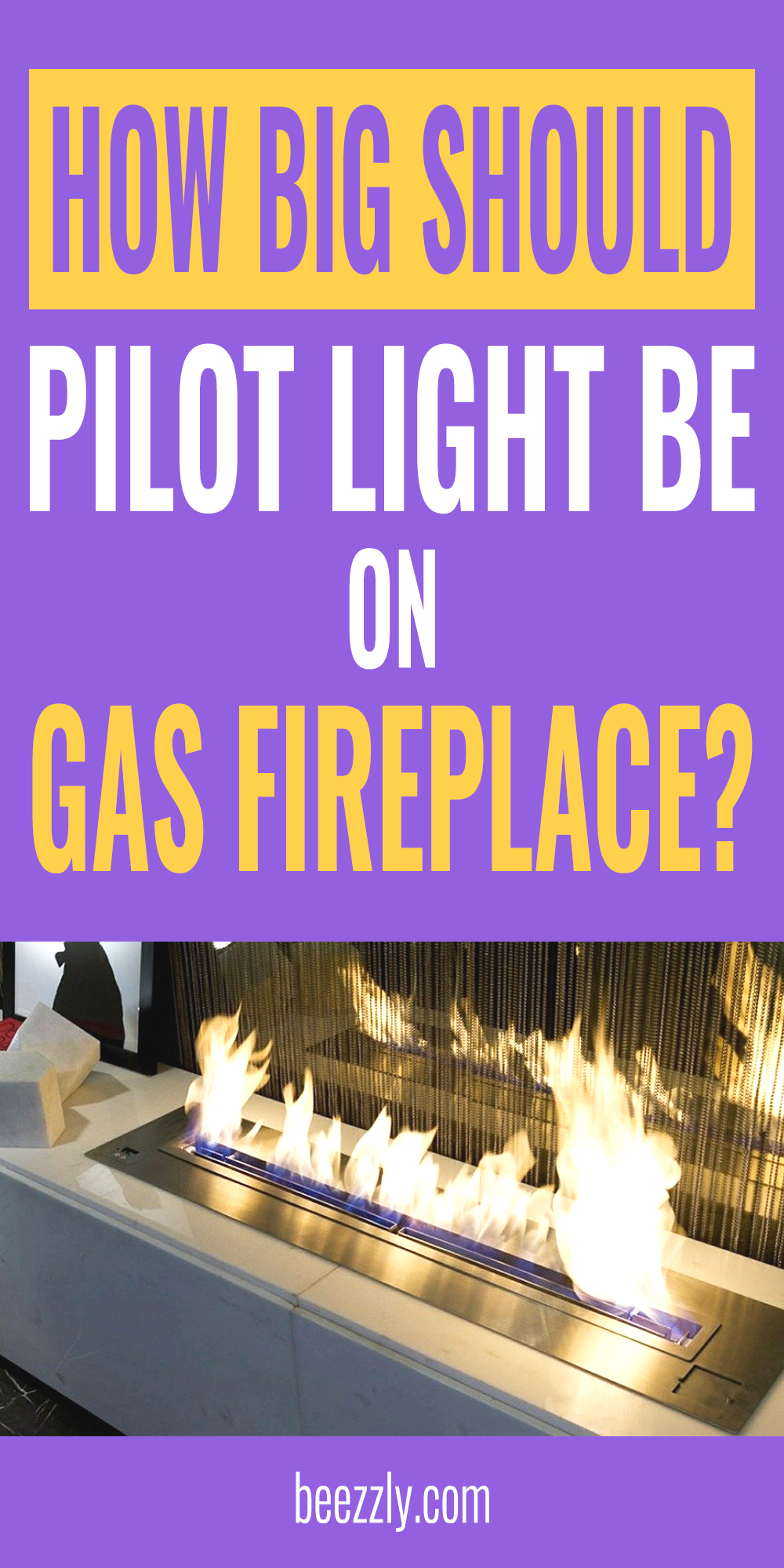 How Big Should Pilot Light Be On Gas Fireplace Gas Fireplace Diy Household Tips Traditional Fireplace