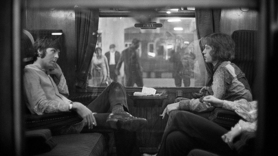 Mick Jagger and Paul McCartney