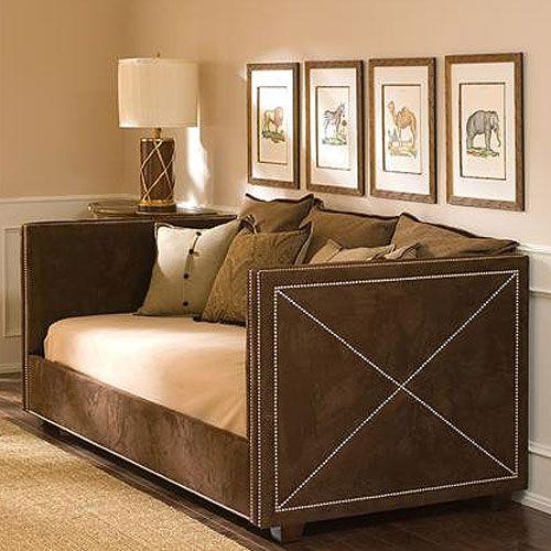 Derbyshire Daybed in Brown Suede Bedroom Best Pinterest Brown