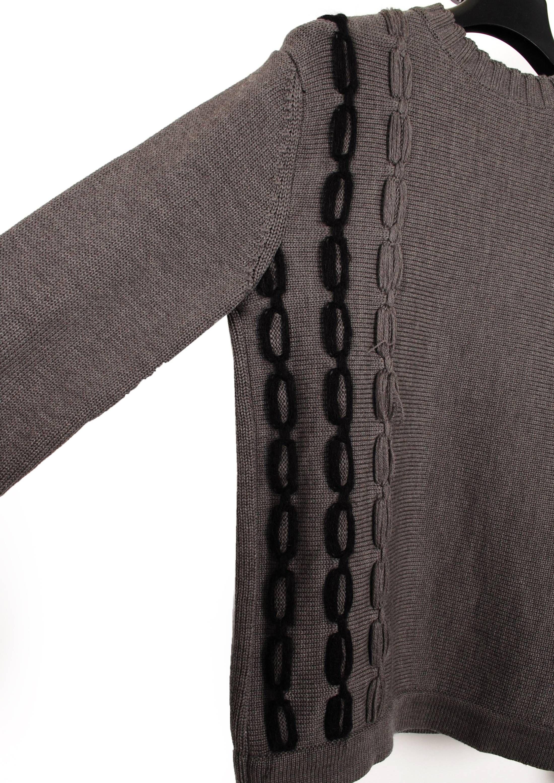 967e00ec65 Dior Original Dior Homme AW03 Luster by Hedi Slimane Wool Grey Men Sweater  in size M Size US M   EU 48-50   2 - 8