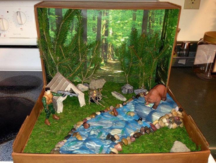 grassland diorama ideas - Google Search | Craft Ideas