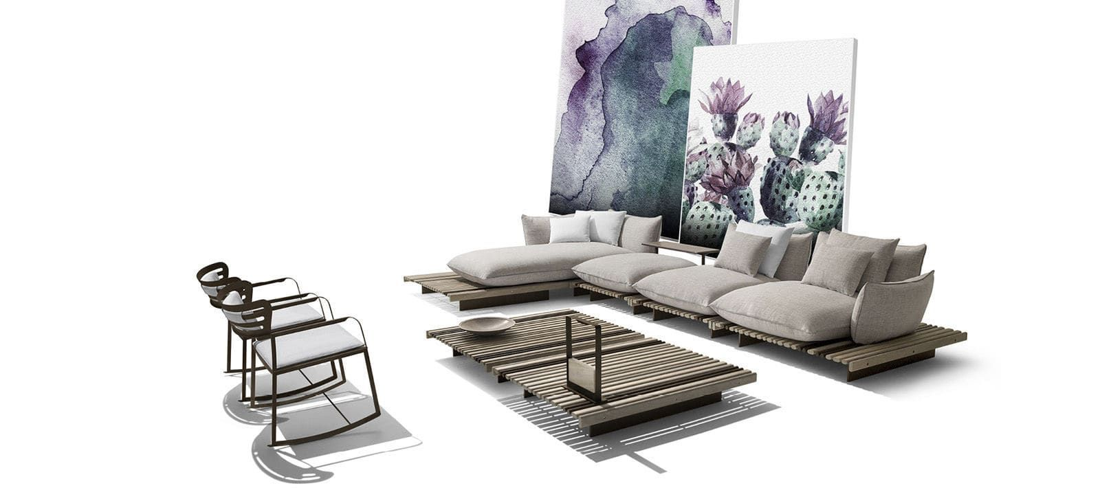 Apsara, refine outdoor design signed (con