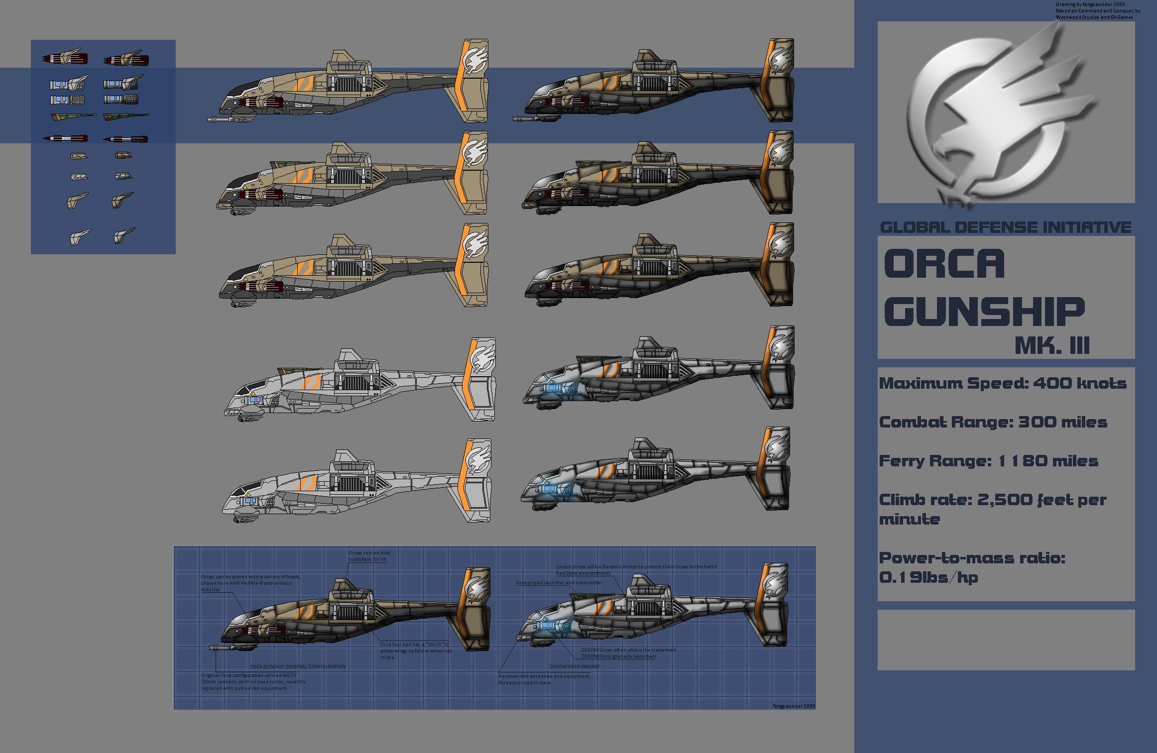 Orca Gunship Mk III by ~fongsaunder on deviantART | Command and