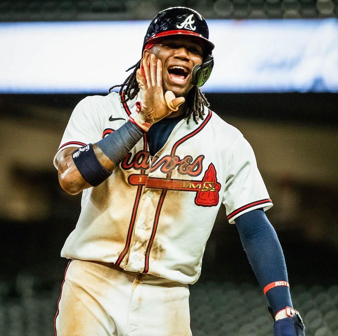 Atlanta Braves I M Baaaaccccck Ronaldacunajr13 Probably In 2020 Atlanta Braves Braves Atlanta