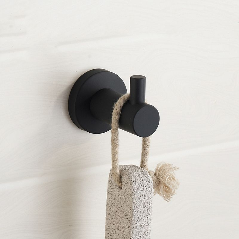 Modern towel hook Cool Towel New Modern Black Rubber Paint Clothes Hook Brushed 304 Stainless Steel Coat Hook Towel Hook Mounting Bathroom Accessories K65in Robe Hooks From Home Pinterest New Modern Black Rubber Paint Clothes Hook Brushed 304 Stainless
