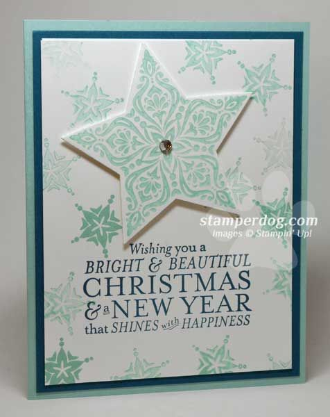 Quick  Easy Christmas Card Handmade Greeting Cards Pinterest