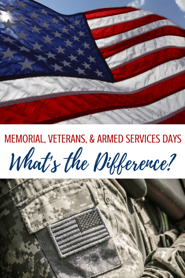 Memorial Day vs Veterans Day Patriotic PSA | When is ...