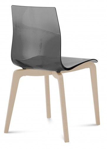 Pezzan Gel L Dining Chair, Transparent Smoked in 2018 Furniture By