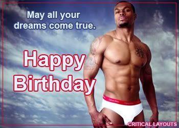 Geburtstag Sexy Mann