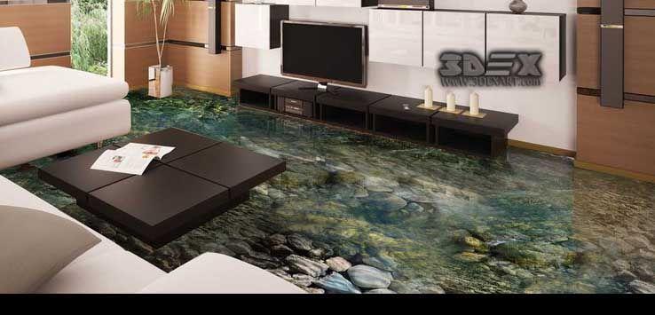 3d Floor Tiles Designs Images Ideas Patterns For All Rooms Unlimited Guide To Get A 3d Tile Flooring In Contemporary Bathroom Tiles Floor Tile Design 3d Tiles