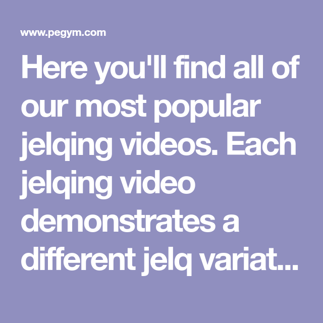 Jelqing Video: Watch Now & Learn How to Properly Jelq