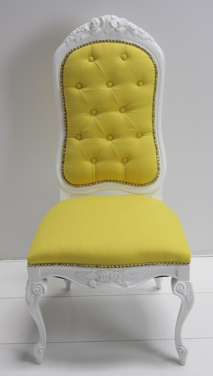 Sedia Panton Gialla Yellow Dining Chair Yellow Pinterest Yellow Dining Chairs