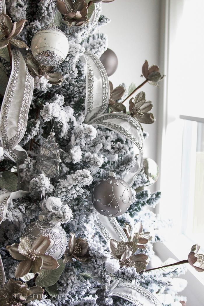 Glittered And Jewelled Christmas Tree Giveaway Jeweled