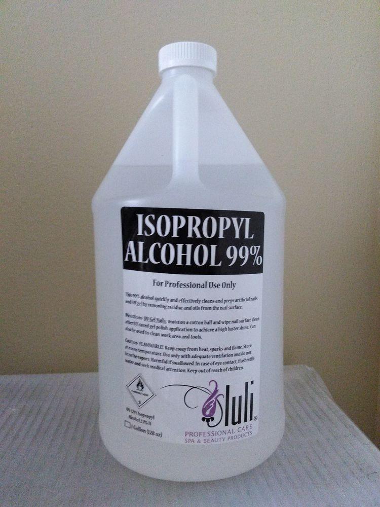Luli Isopropyl Alcohol 99 BrennetagChemical Stuff To Buy Ebay Rubbing