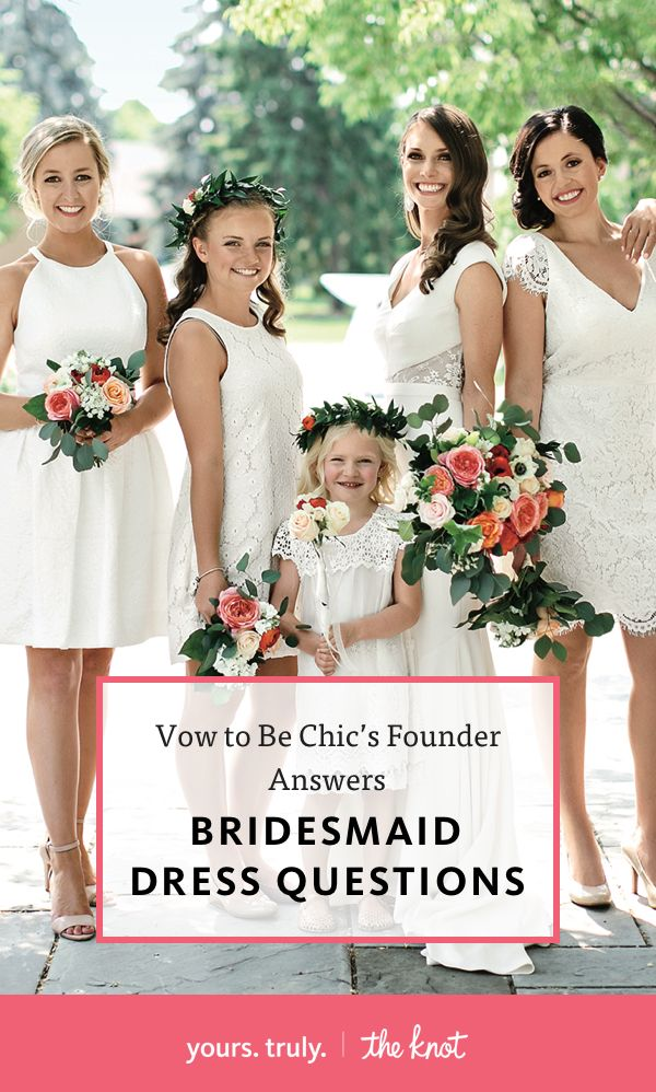 Answers to 5 of Your Burning Bridesmaid Dress Questions