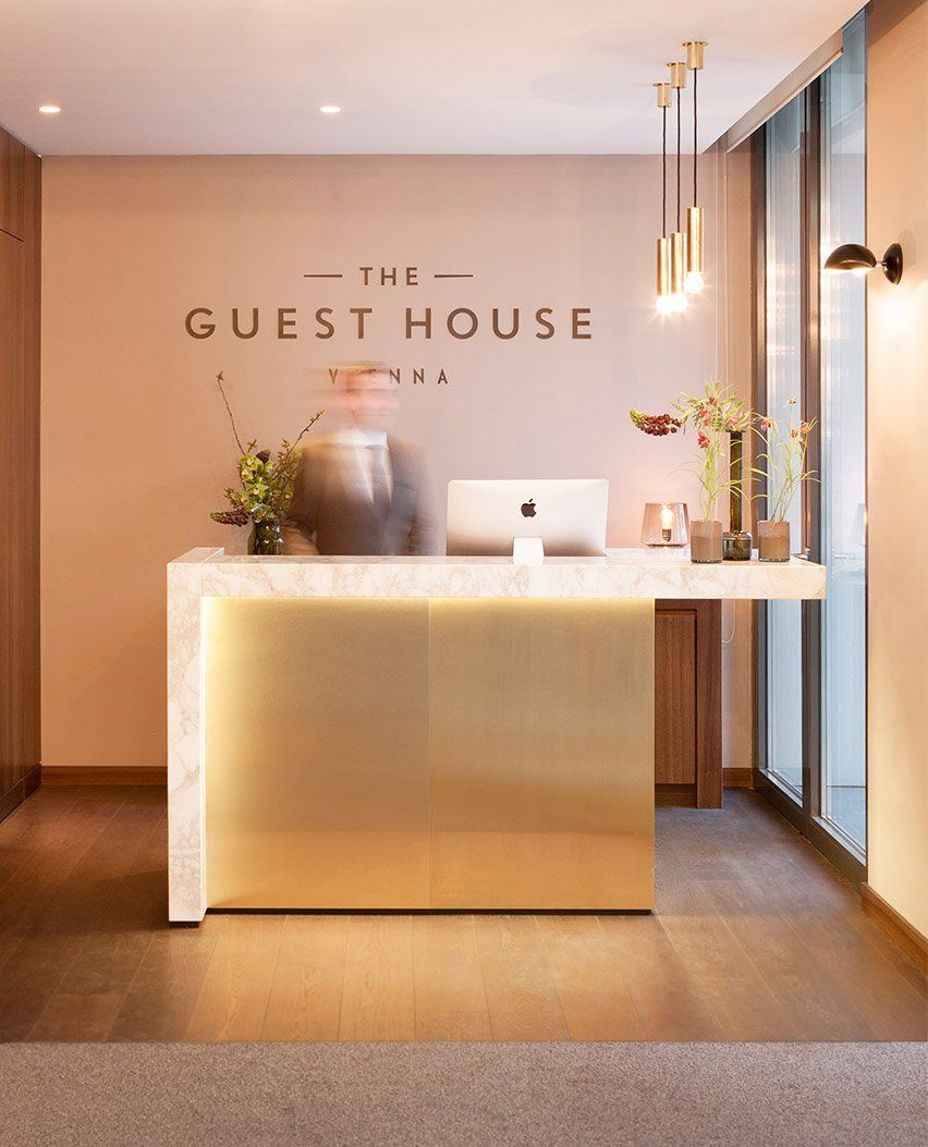 Conran and partners guest house viennal 030615 2x4 for Design hotel reception