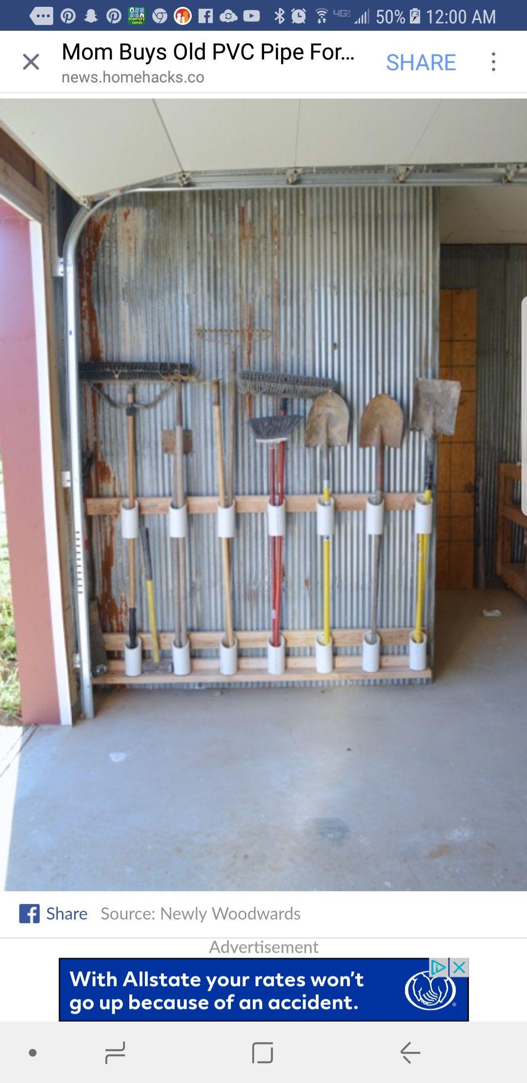 News Homehacks Com Garage Storage Solutions Garage Organization