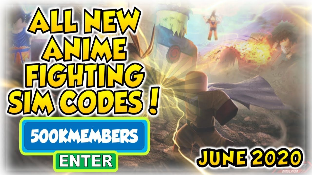 All New Roblox Anime Fighting Sim Codes June 2020 In 2020 Anime Fight Roblox Anime