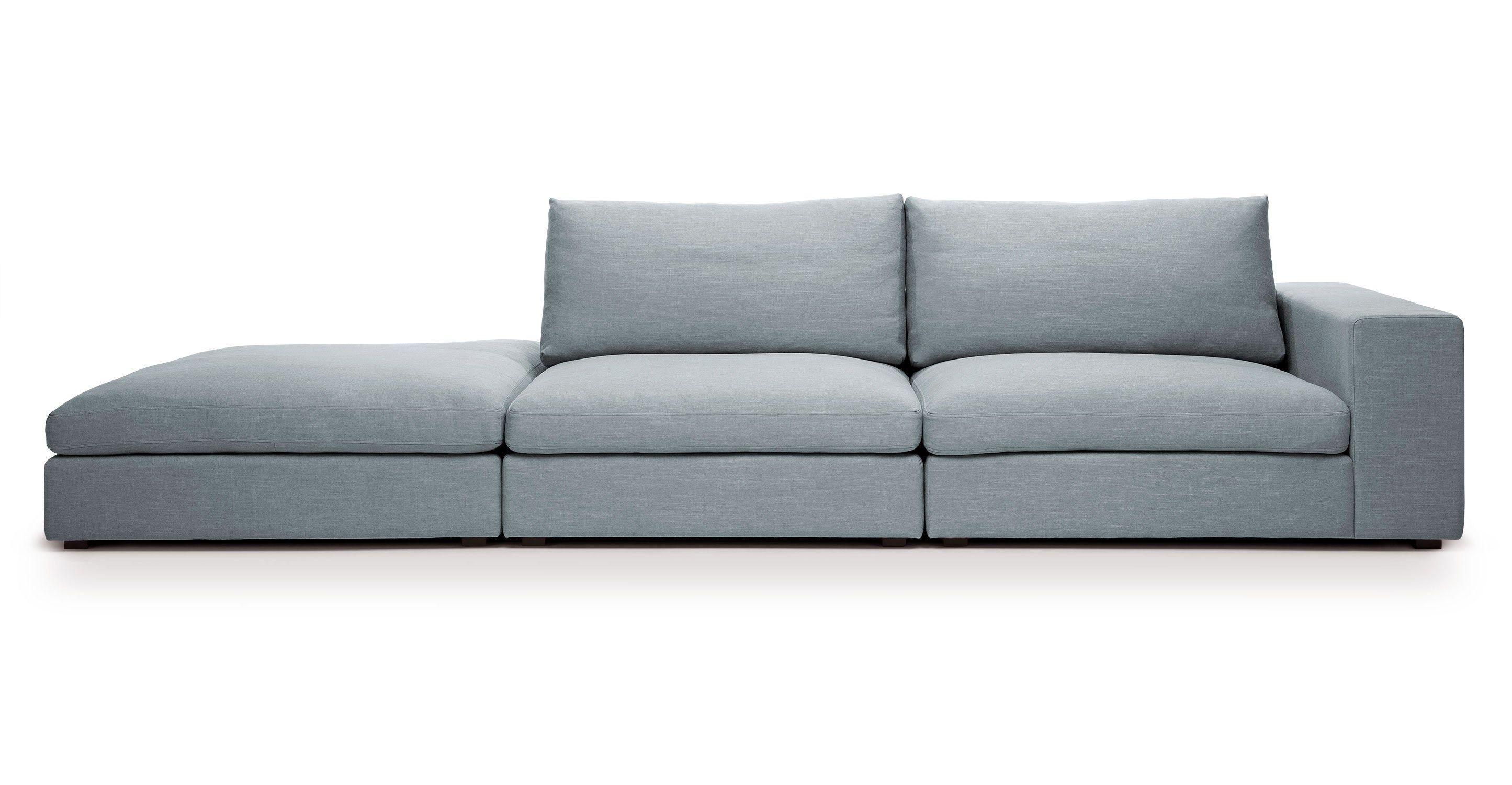 Best Cube Glacier Blue Modular Sofa Right Arm Sofas 400 x 300