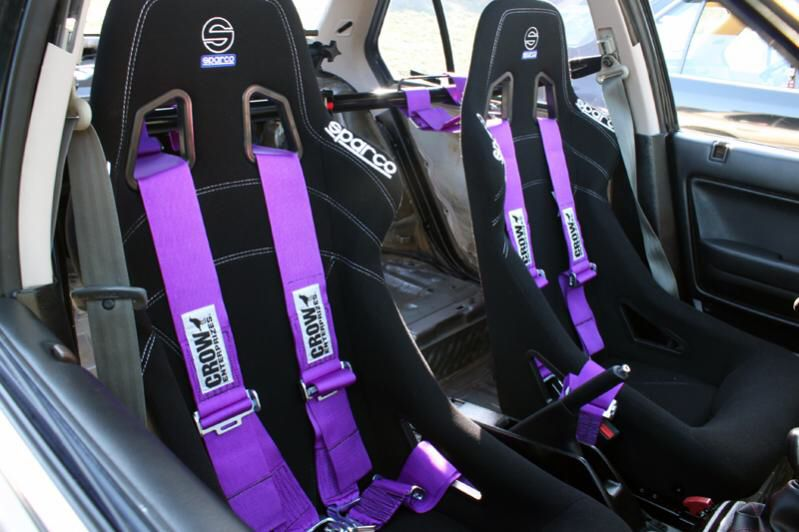 Purple seat belt harnesses❤ WANT!!! | Import cars❤ | Pinterest